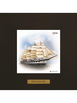 Картина-сувенир Star Clippers Ceramic Picture. Цвет: бежевый