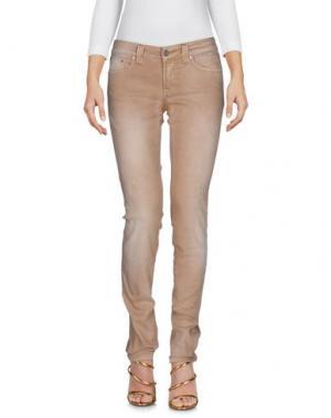 Джинсовые брюки S.O.S by ORZA STUDIO. Цвет: верблюжий