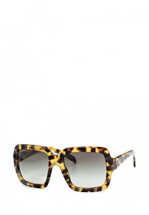 Очки солнцезащитные Prada. Цвет: разноцветный