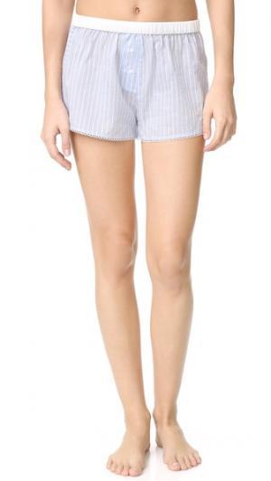 Пижамные шорты Teddy Morgan Lane. Цвет: пудровый