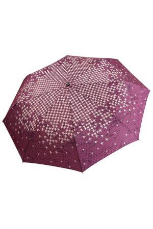 Зонт Fabretti. Цвет: красный, бордовый