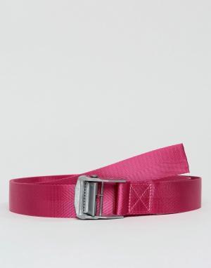 ASOS Узкий длинный пояс розового цвета. Цвет: розовый