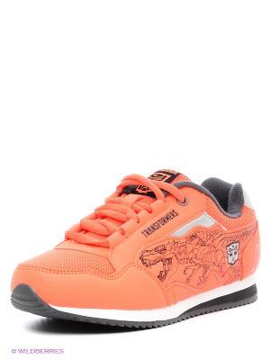 Кроссовки Kakadu. Цвет: оранжевый
