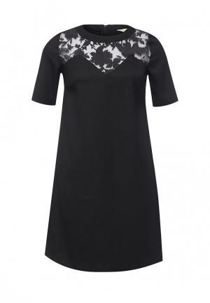 Платье Y by Yumi. Цвет: черный