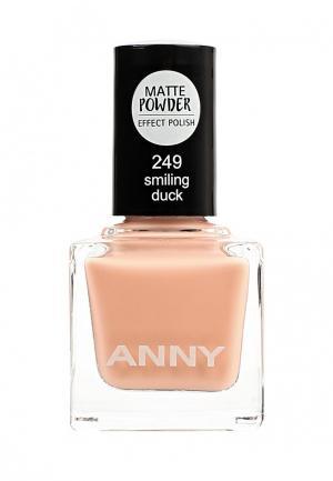 Лак для ногтей Anny. Цвет: бежевый