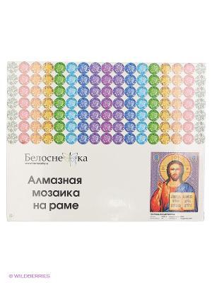 Мозаика на подрамнике. Господь Вседержитель (074-ST-S) Белоснежка. Цвет: голубой