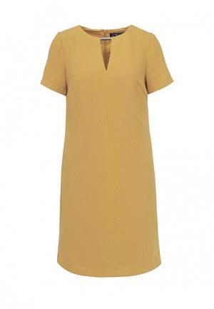 Платье Incity. Цвет: коричневый