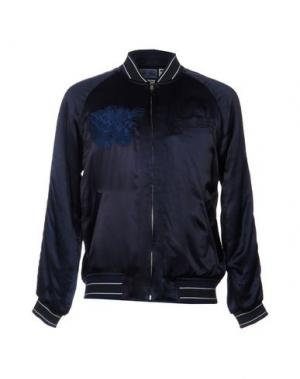 Куртка BLUE JAPAN. Цвет: темно-синий