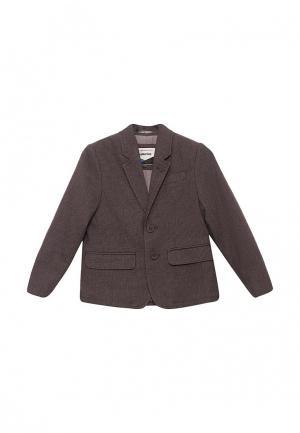 Пиджак Piazza Italia. Цвет: серый
