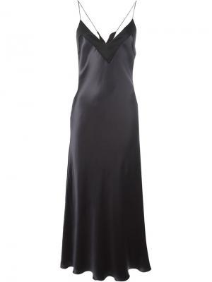 Платье на бретелях Ellery. Цвет: чёрный