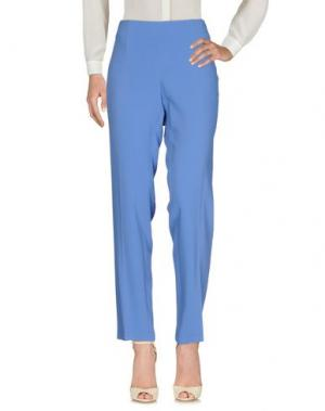 Повседневные брюки SEVERI DARLING. Цвет: лазурный