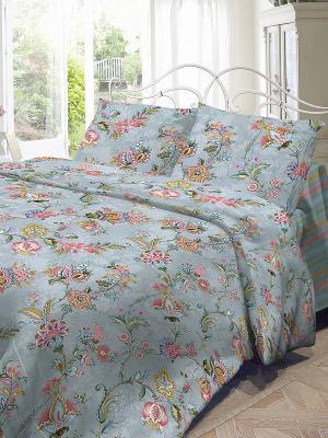 Комплект постельного белья Волшебная ночь. Цвет: голубой