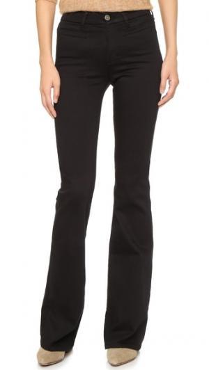 Расклешенные джинсы Marrakesh M.i.h Jeans. Цвет: голубой