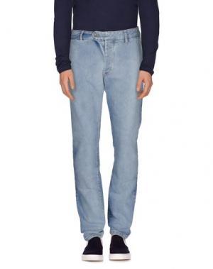 Джинсовые брюки 26.7 TWENTYSIXSEVEN. Цвет: синий