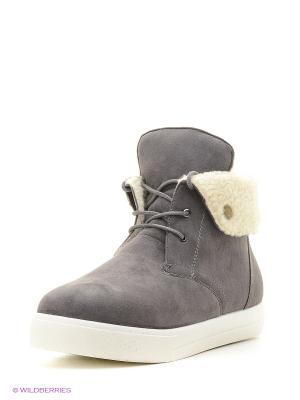 Ботинки Алми. Цвет: серый