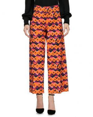 Повседневные брюки ASPESI. Цвет: оранжевый