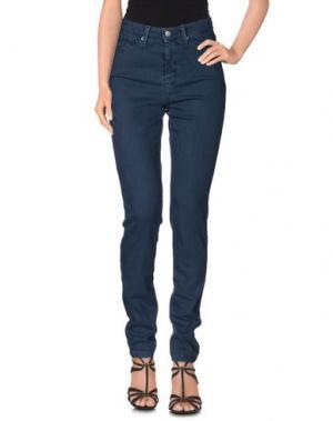 Джинсовые брюки J-CUBE. Цвет: грифельно-синий