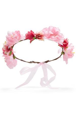 Ободок для волос Nothing but Love. Цвет: светло-розовый, ярко-малиново-