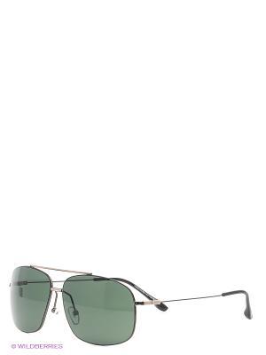 Солнцезащитные очки Mario Rossi. Цвет: серо-зеленый, серый меланж