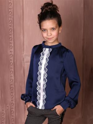 Блузка babyAngel. Цвет: синий