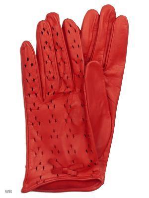 Перчатки MERCEDES-BENZ. Цвет: красный