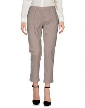Повседневные брюки C.Y.H. CLAP YOUR HAND. Цвет: серый