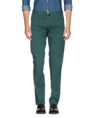 Повседневные брюки VERDERA. Цвет: изумрудно-зеленый