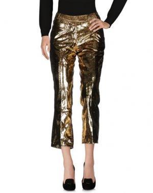 Повседневные брюки ANTONIO BERARDI. Цвет: золотистый