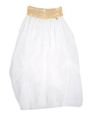 Юбка PARROT. Цвет: белый