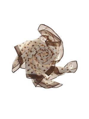 Платок Olere. Цвет: кремовый, коричневый