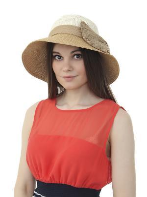 Шляпа Gusachi. Цвет: белый, коричневый, бежевый