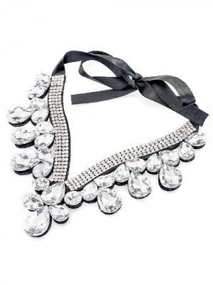 Воротник-ожерелье на ленте Chantal. Цвет: черный, белый