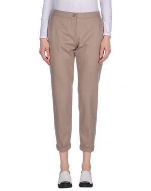 Повседневные брюки CARLA G.. Цвет: песочный