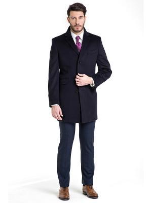 Пальто Troy collezione. Цвет: темно-синий