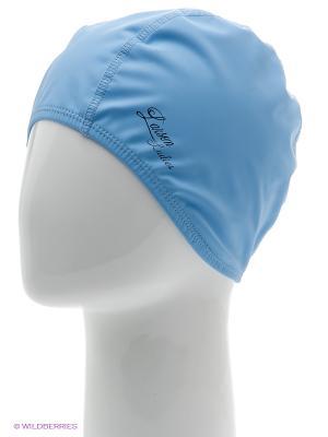 Шапочка плавательная Ladies Larsen. Цвет: голубой