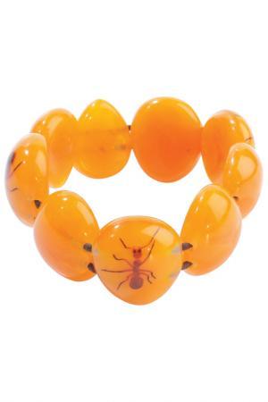 Браслет Zsiska. Цвет: оранжевый