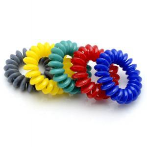 Комплект Резинок-Пружинок для волос 5 шт/уп, арт. РПВ-298 Бусики-Колечки. Цвет: разноцветный