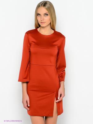 Платье DOCTOR E. Цвет: терракотовый