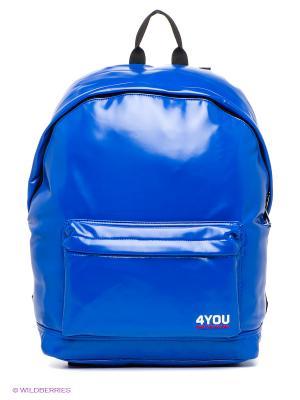 Рюкзак 4you. Цвет: синий