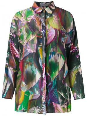 Foliage Janaina shirt Martha Medeiros. Цвет: многоцветный