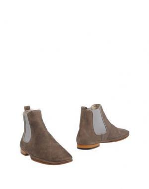 Полусапоги и высокие ботинки SARTORI GOLD. Цвет: голубиный серый