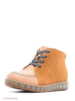 Ботинки TAPiBOO. Цвет: желтый