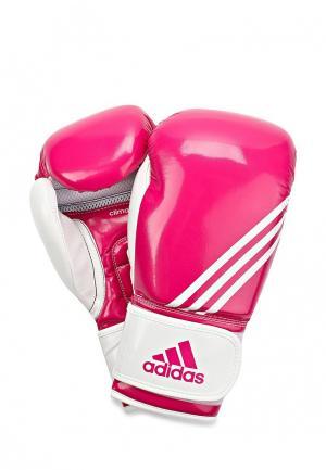 Перчатки боксерские adidas Combat. Цвет: розовый