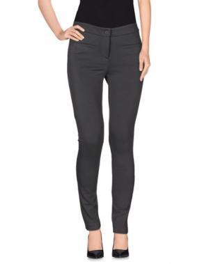Повседневные брюки AGATHA CRI. Цвет: серый