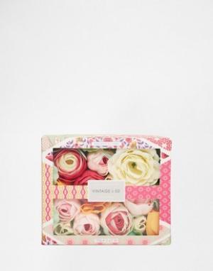 Beauty Extras Мыло в форме цветов Vintage & Co. Цвет: бесцветный