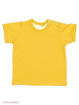 Футболка PEPELINO. Цвет: желтый