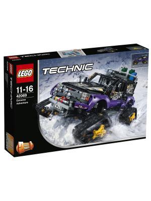 Technic Экстремальные приключения 42069 LEGO. Цвет: синий