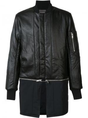 Куртка-бомбер Siki Im. Цвет: чёрный