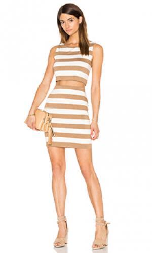 Мини платье vasarely Bailey 44. Цвет: коричневый