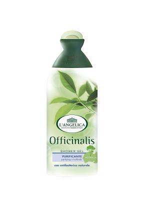 Гель для душа  ОЧИЩАЮЩИЙ антибактериальный с маслом чайного дерева 250 мл L'Angelica. Цвет: белый
